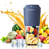 Mixer Smoothie Maker, Podoor Tragbarer Mixer für Smoothies und Shakes mit 3000mAh Batterie, 24.000...