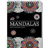 Mandala Malbuch für Erwachsene mit Anti-Stress-Wirkung: Das erste Spiral-Ausmalbuch von Colorya, auf A4 Künstlerpapier, ohne Durchdrücken